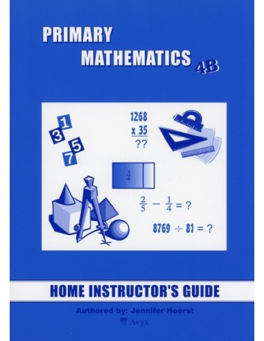 Singapore Math Grade 4 Home Instructor Guide 4B