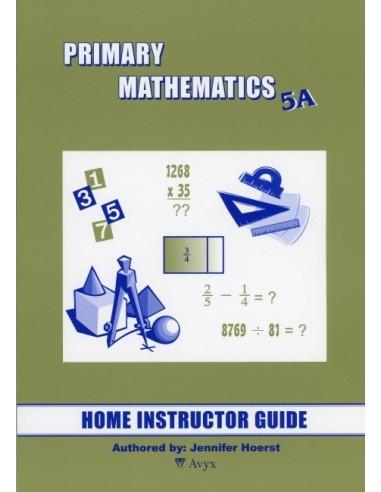 Singapore Math Grade 5 Home Instructor Guide 5A