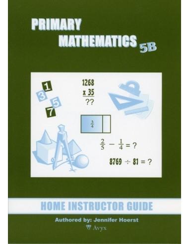 Singapore Math Grade 5 Home Instructor Guide 5B