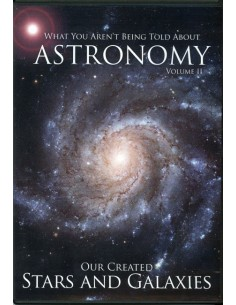 Our Created Stars and Galaxies DVD