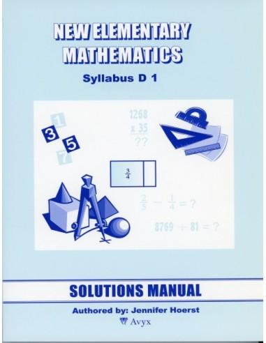 Singapore Math Grade 7 Sol. Manual (level 1)