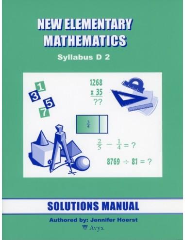 Singapore Math Grade 8 Sol. Manual (level 2)