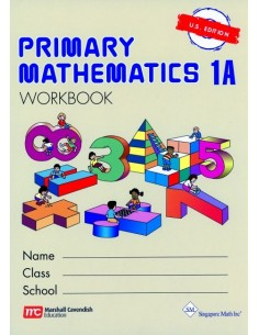Singapore Math Grade 1 Workbook 1A