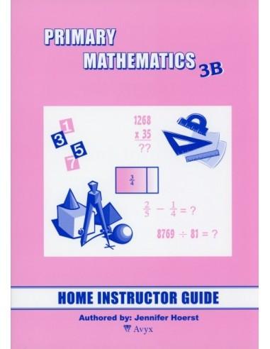 Singapore Math Grade 3 Home Instructor Guide 3B