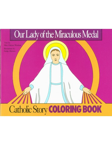 Our Lady of the Miraculous Medal Coloring Book