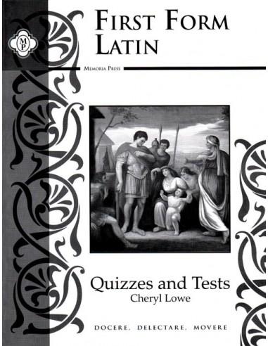 F F Latin Test & Quiz Booklet