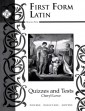 F F Latin Test & Quiz Booklet