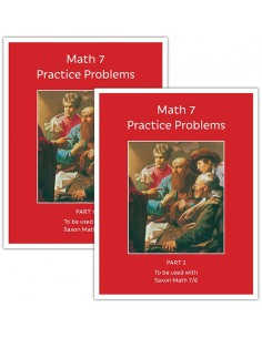 Math 7 Practice Problems Workbook