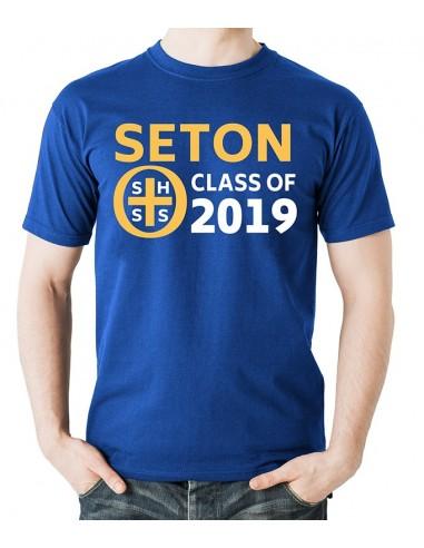 Seton Class of 2019 T-Shirt Adult Small