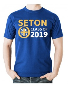 Seton Class of 2019 T-Shirt Adult Large