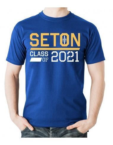 Seton Class of 2021 T-Shirt Adult 2-XL