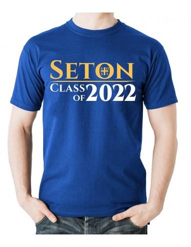 Seton Class of 2022 T-Shirt Adult 2-XL