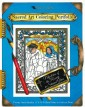 Mysteries of the Rosary Stained Glass Coloring Portfolio