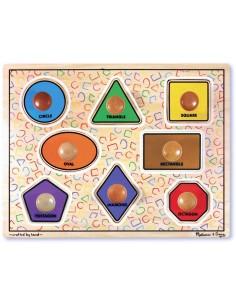 Large Shapes Jumbo Knob Puzzle