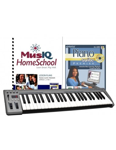 Piano Suite Premier Set with Piano Keyboard