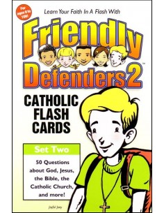 Friendly Defenders 2 Catholic Flash Cards