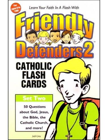 Friendly Defenders 2 Catholic Flash Cards