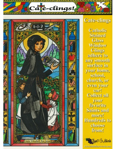 St. Elizabeth Ann Seton - Window Cling