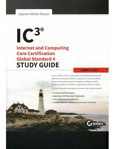 IC3: Internet and Computing Printed Book
