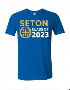 Seton Class of 2023 T-Shirt Adult 2-XL