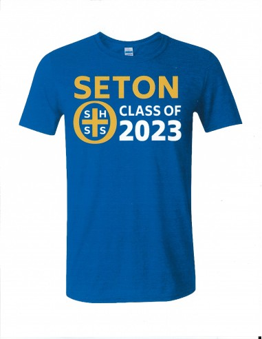 Seton Class of 2023 T-Shirt Adult 2-XL