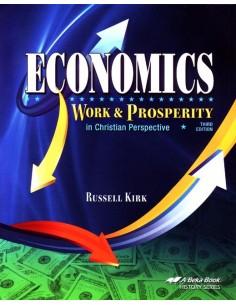 Economics Work and Prosperity 3rd Ed.