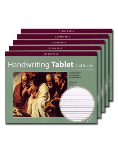 Grade 2 Handwriting Tablet - 5 pack