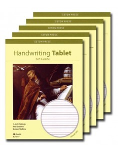 Grade 3 Handwriting Tablet - 5 pack