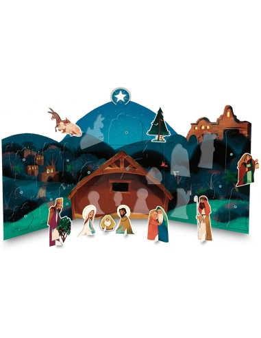 My Nativity Pop-out Advent Calendar