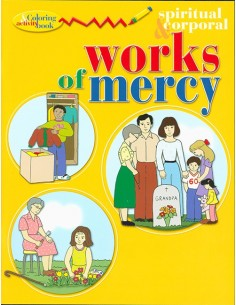 Works of Mercy Coloring Book