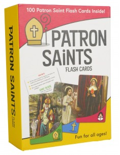 Patron Saints Flash Cards