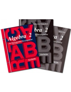 Saxon Algebra 2 (3rd Ed) Home Study Kit