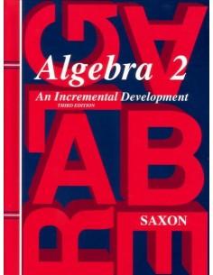Saxon Algebra 2 (3rd Ed) Text (New)