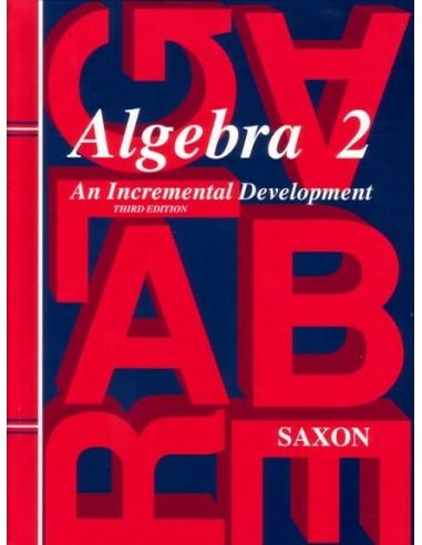 Saxon Algebra 2 (2nd or 3rd Ed.) Text (Used)
