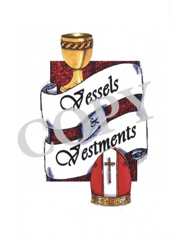 Vessels and Vestments Flash Cards