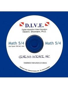 Math 54 3rd ed/Homeschool Dive Into Math CD