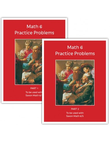 Math 6 Practice Problems Workbook