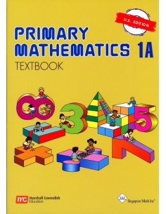 Singapore Math Grade 1 Textbook 1A