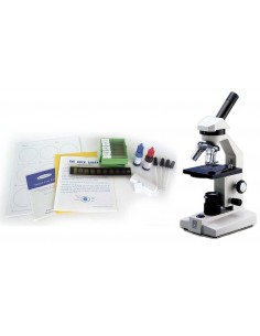 Biology Lab set w/ Slides and Microscope