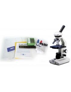 Biology Lab set w/ Slides and Microscope