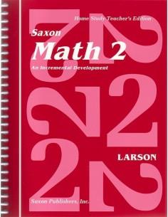 Saxon Math 2 Teacher's Manual