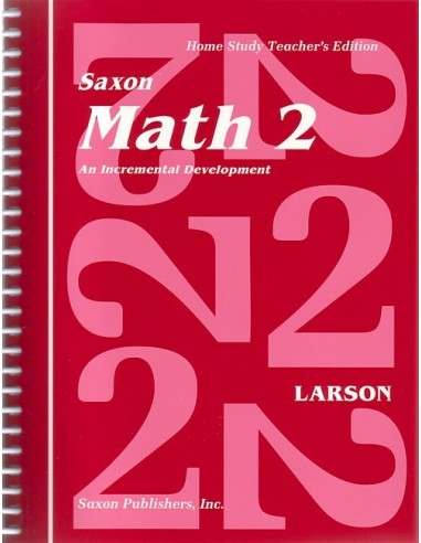 Saxon Math 2 Teacher's Manual