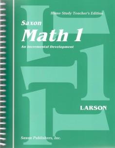 Saxon Math 1 Teacher's Manual