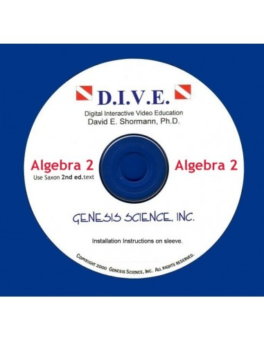 Algebra 2 (2nd ed) Dive Into Math CD