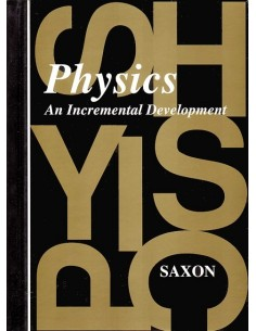Saxon Physics (1st edition) Textbook