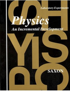 Saxon Physics (1st edition) Laboratory Experiments
