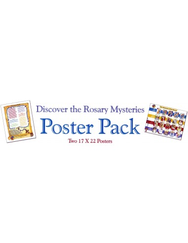 The Holy Rosary Poster Pack