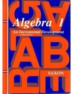 Saxon Algebra 1 (3rd edition) Text