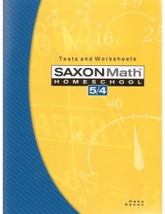 Saxon 54 (Homeschool