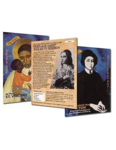 Holy Traders Set No. 1 Saint Trading Cards